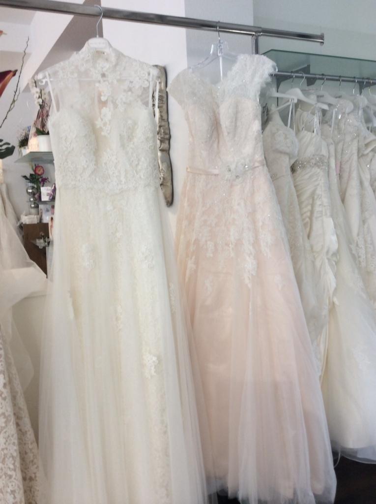 Die Brautkleider der Kollektionen 2015 sind da!!