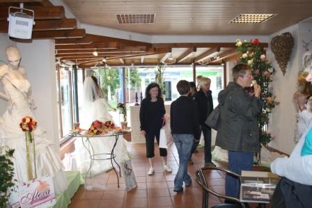 Impressionen unserer Brautmodenausstellung, Hochzeitskleider ...