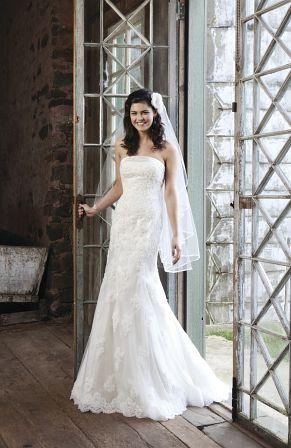 Hochzeitskleid schmal Sincerity