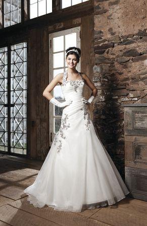 Brautkleid erhältlich auch in ivory/ivory
