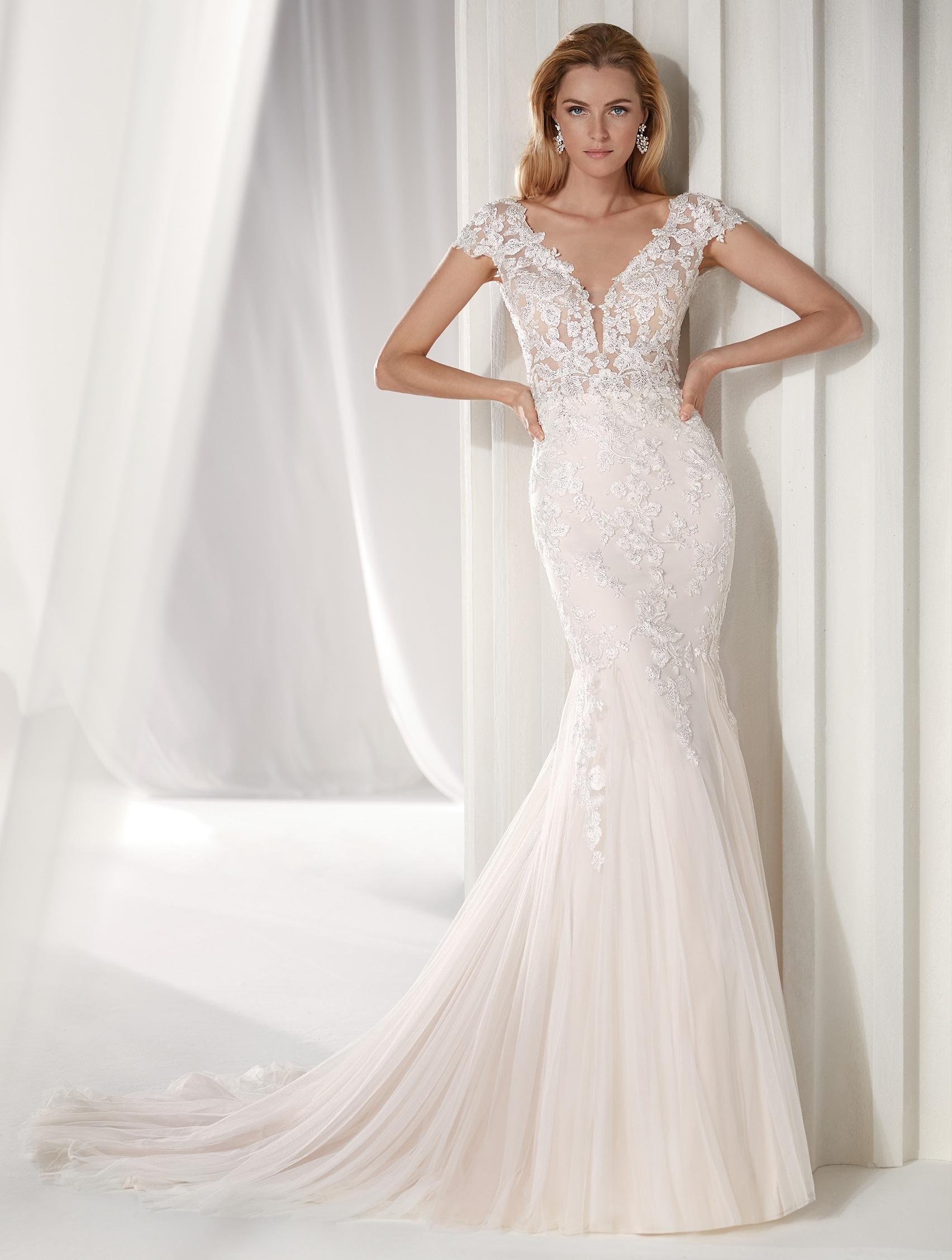 Nicole Spose, italienische hochzeitskleider, Hochzeitskleid